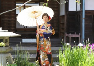 振袖鎌倉ロケーション撮影