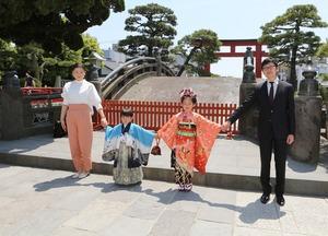 鎌倉七五三ロケーション 753 家族写真 ロケーション撮影