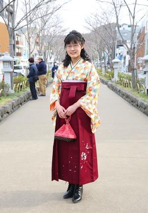 鎌倉 小学生卒業袴レンタル3