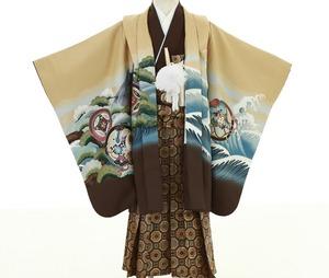 鎌倉七五三 5歳男子 着物レンタル 2107