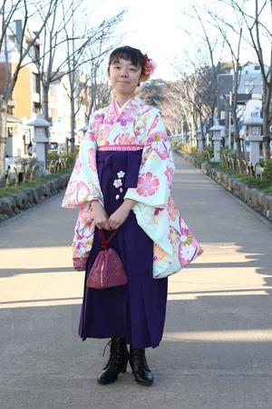 鎌倉小学生卒業袴 女児 (2)