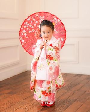鎌倉七五三3歳着物フォト