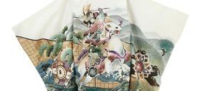 鎌倉七五三 5歳男子 着物レンタル 1624後姿