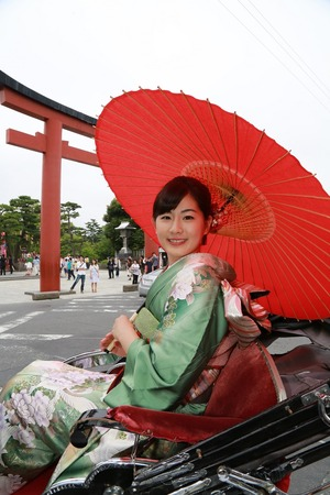 鎌倉成人式振袖写真7