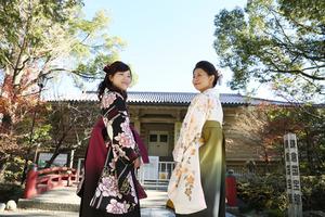 鎌倉卒業袴写真1