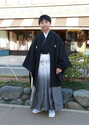 鎌倉小学生卒業袴 男児紋服