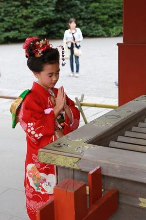 鶴岡八幡宮七五三写真5