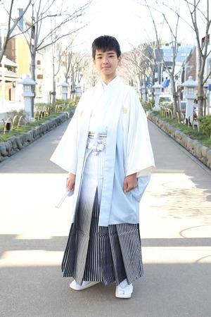 鎌倉小学生卒業袴 男児  (2)