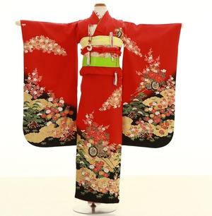 鎌倉七五三 レンタル着物 7歳 1161