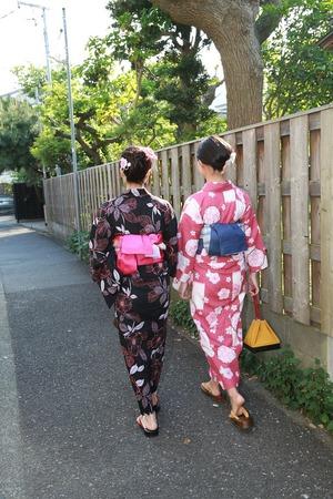 鎌倉浴衣散策