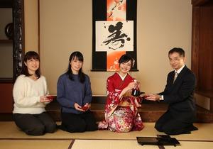 成人式前撮り家族写真 和室フォト 鎌倉 湘南