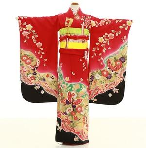 鎌倉七五三 レンタル着物 7歳 1231