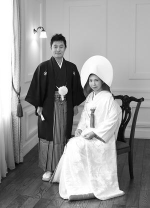 鎌倉婚礼和装前撮りスタジオ写真