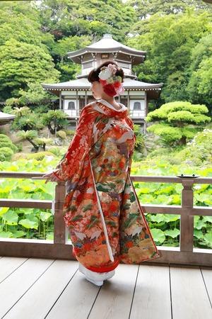 鎌倉光明寺フォトウェディング4