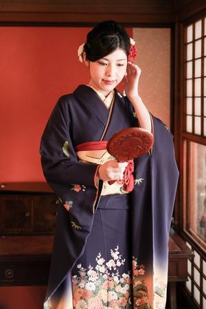 鎌倉 成人式 前撮り 美容着付け