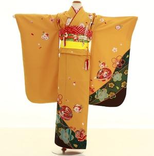 鎌倉七五三 レンタル着物 7歳 1746