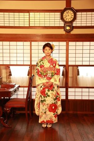 鎌倉成人式振袖写真3