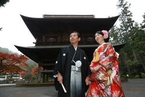 円覚寺結婚式写真2