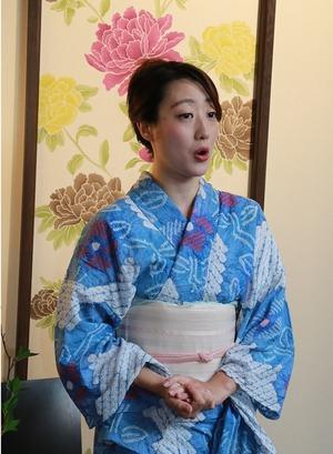 岡田みみさん鎌倉着物スタジオ