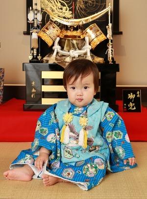 鎌倉1歳バースデーフォト和室兜