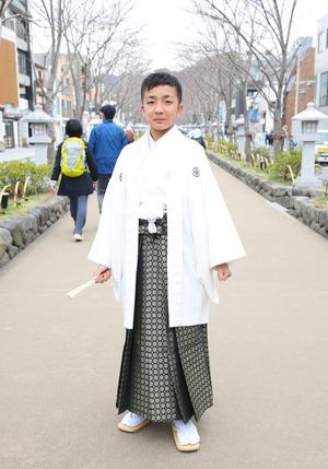 鎌倉 小学生男子 卒業袴 写真23