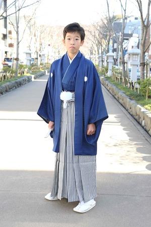 鎌倉小学生卒業袴 男児  (6)