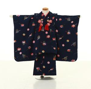 鎌倉七五三 レンタル着物 3歳 1824