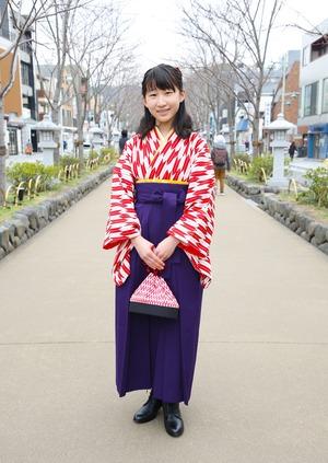 鎌倉 小学生卒業袴レンタル14