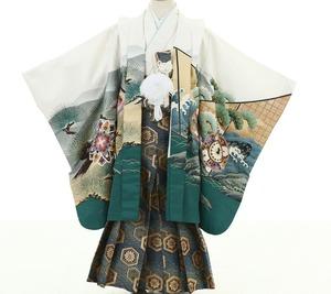 鎌倉七五三 5歳男子 着物レンタル 1624