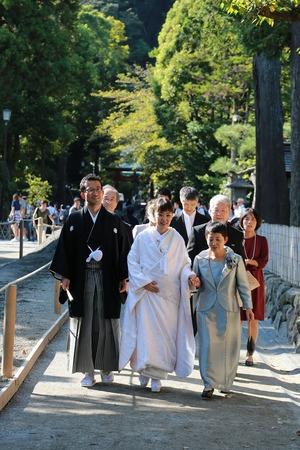 鶴岡八幡宮結婚式3