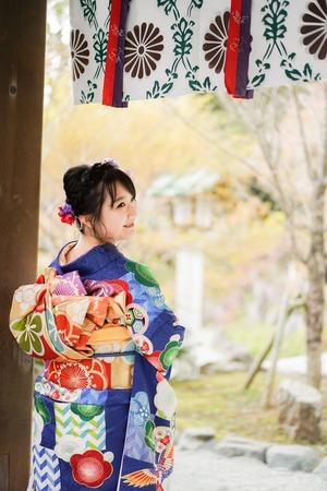 鎌倉宮 成人式振袖 ご祈祷 ロケーションフォト8