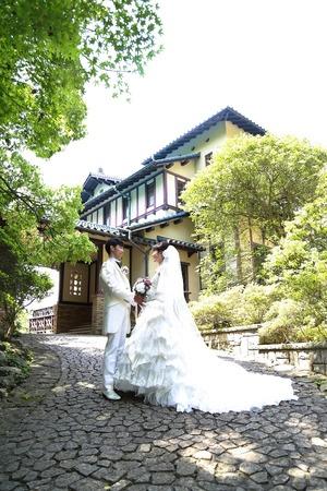 鎌倉文学館フォトウェデイング5