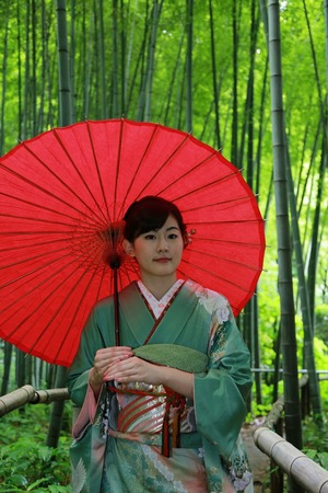 鎌倉成人式振袖写真5