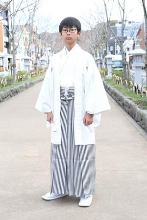鎌倉小学生卒業袴 男児  (13)