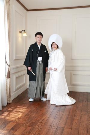 鎌倉和装前撮り スタジオ写真 鎌倉白無垢