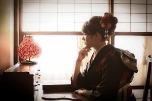 成人式着物前撮り鎌倉