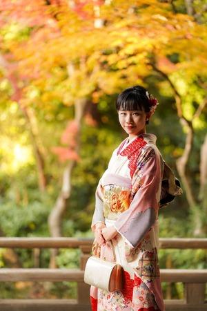 鎌倉 成人式前撮り 紅葉