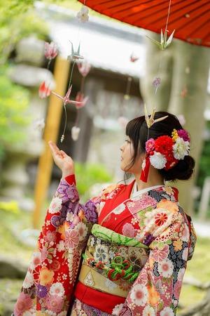 鎌倉宮成人式ご祈祷 振袖前撮り ロケーションフォト12