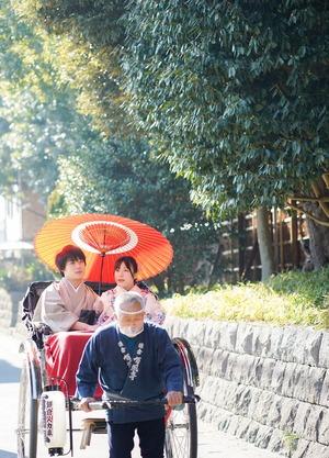 鎌倉散策 着物 カップル 記念日 写真3
