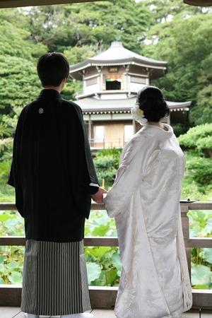 鎌倉光明寺婚礼前撮り
