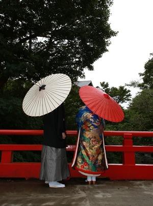 鎌倉和装前撮り 鎌倉ロケーション 鎌倉人力車プラン