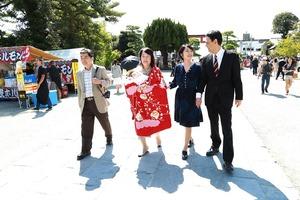 鶴岡八幡宮お宮参り写真3