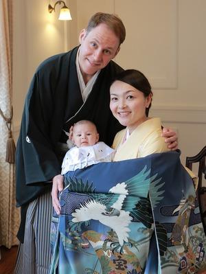 鎌倉家族写真 お宮参り写真 スタジオ写真 記念写真