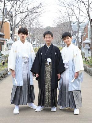 鎌倉 小学生男子 卒業袴 写真1