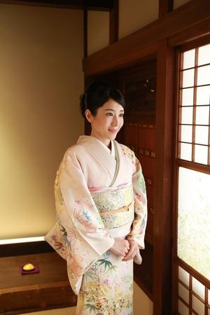 鎌倉訪問着写真