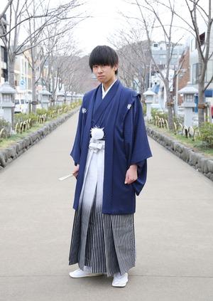 鎌倉 小学生男子 卒業袴 写真5