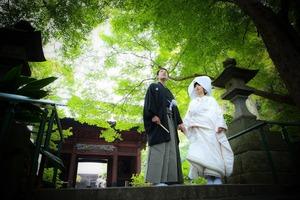 鎌倉ウェディング寺社ロケーションフォト妙本寺