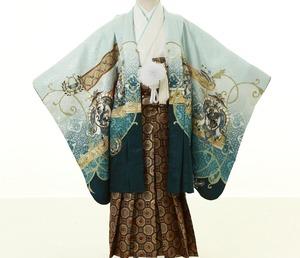 鎌倉七五三 5歳男子 着物レンタル 2240