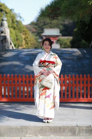 鎌倉成人式振袖ロケーション撮影2