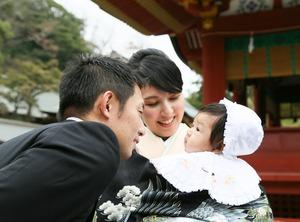 鶴岡八幡宮 お宮参り ロケーションフォト2